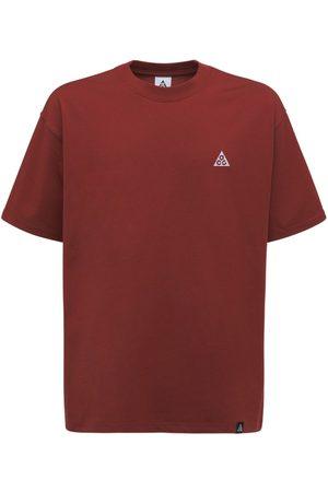 Nike Men T-shirts - Acg Logo Cotton Blend T-shirt