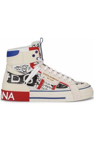 Dolce & Gabbana Men Sneakers - 2.Zero high-top sneakers