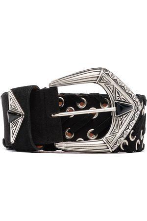 Etro Women Belts - Suede waist belt