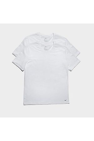Nike Men's Everyday Stretch Slim Fit Crewneck shirt (2-Pack) in / Size Small Cotton/Spandex