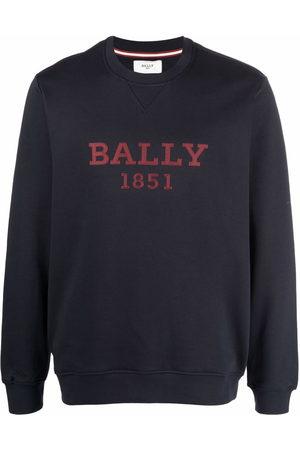 Bally Men Sweatshirts - Logo-print crew neck sweatshirt