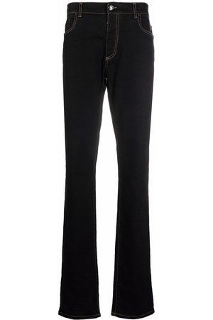 BILLIONAIRE Men Straight - Iconic Crest embossed straight-cut jeans