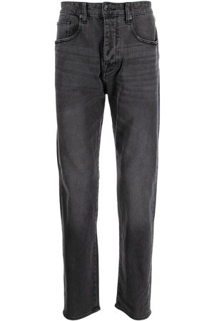 Armani Men Straight - Stonewashed tapered jeans - Grey