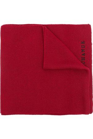 Armani Men Scarves - Embroidered-logo scarf