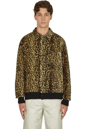 Levi's Men Fleece Jackets - Button through fleece shirt CHEETAH S