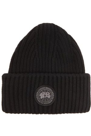 Canada Goose Rib-knit Recycled Cashmere-blend Beanie Hat - Mens