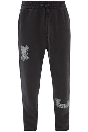 KSUBI Royalty Lo-fi Trak Cotton-jersey Track Pants - Mens