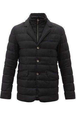 HERNO Norfolk Wool-blend Blazer Down Jacket - Mens