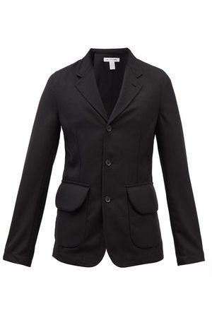Comme des Garçons Single-breasted Gabardine Suit Jacket - Mens