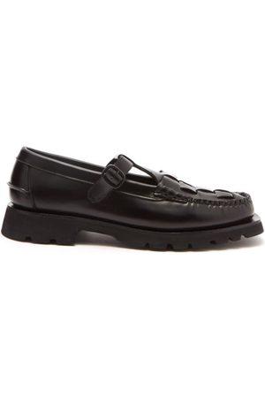 Hereu Soller Sport T-bar Leather Loafers - Mens
