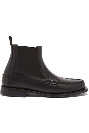 Hereu Men Chelsea Boots - Barga Leather Chelsea Boots - Mens