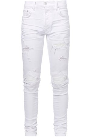 Amiri Mx1 Distressed Skinny-leg Jeans - Mens