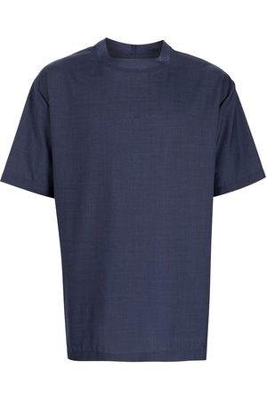 Emporio Armani Short-sleeved wool T-shirt