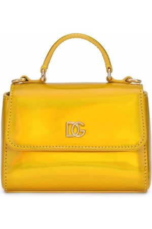 Dolce & Gabbana Girls Bags - Logo-plaque handbag