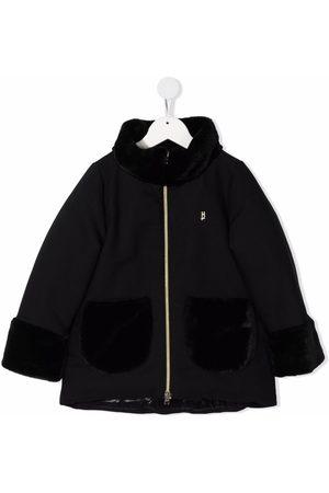 HERNO Girls Coats - Virgin-wool pocket coat