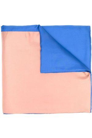 SOFIE D'HOORE Women Scarves - Two-tone silk scarf - Neutrals