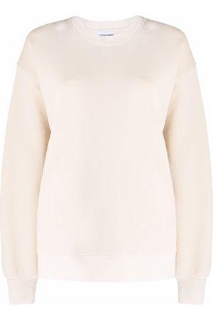 Cotton Citizen Crew-neck cotton sweatshirt - Neutrals