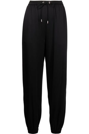 Ralph Lauren Women Straight Leg Pants - Drawstring straight trousers