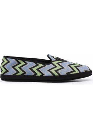 M Missoni M zig-zag slippers
