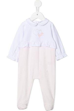PATACHOU Pajamas - Ruffle-trim stretch-cotton pajamas