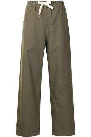 SOFIE D'HOORE Straight cotton trousers