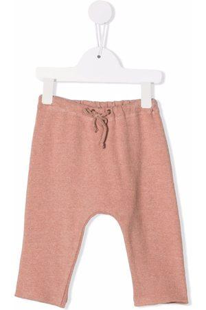 Zhoe & Tobiah Drawstring-waist track pants