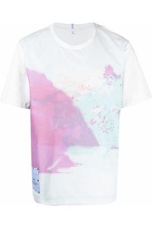 McQ Men T-shirts - Abstract-print cotton T-Shirt