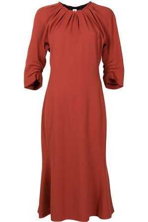 Marni Women Dresses - Gathered-detail round-neck dress