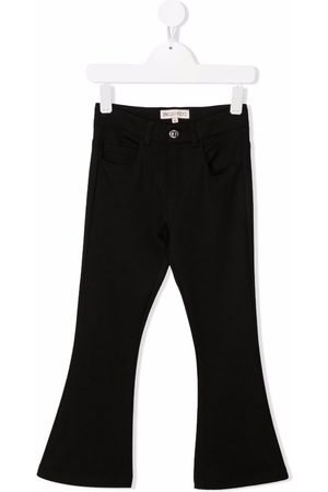 Emilio Pucci Girls Flares - Mid-rise flared jeans