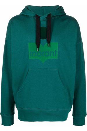 Isabel Marant Men Hoodies - Miley logo-print hoodie