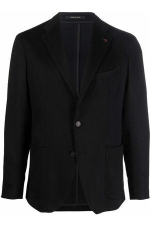 TAGLIATORE Men Blazers - Single-breasted wool blazer