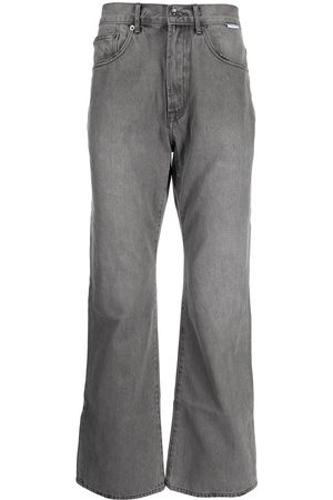 FIVE CM Men Straight - Wide leg jeans - Grey