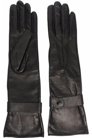 Manokhi Longline leather gloves