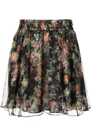 Alice+Olivia Floral-print mini skirt - Multicolour