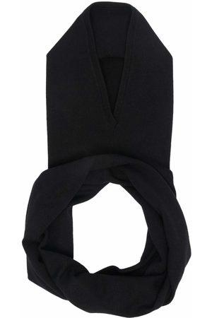 SARA LANZI Merino-blend snood-neck hat