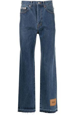 DOUBLET Men Bootcut - Bootcut cropped jeans