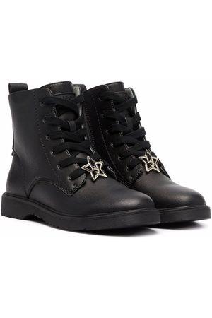 Liu Jo Rain Boots - Star-plaque detail boots