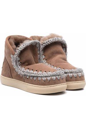 Mou Kids Eskimo ankle boots - Neutrals