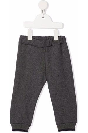 FAY KIDS Contrasting pocket track pants - Grey