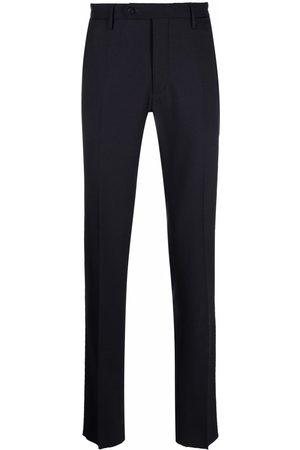 Incotex Slim-cut wool-blend trousers