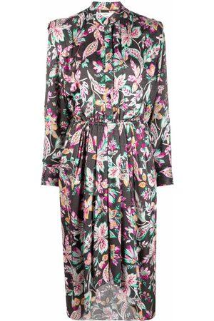 Isabel Marant Women Printed Dresses - Okleya floral-print dress