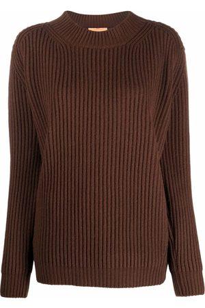 The Andamane Ribbed-knit mock-neck jumper
