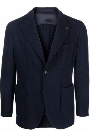 GABRIELE PASINI Men Blazers - Single-breasted tailored blazer
