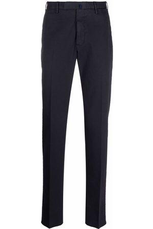 Incotex Men Formal Pants - Straight-leg cotton trousers