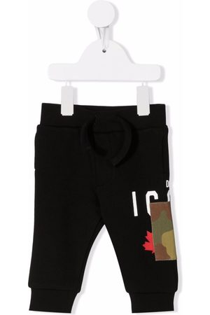 Dsquared2 Sweatpants - Camouflage-patch track pants