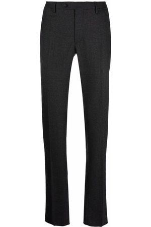Incotex Men Formal Pants - Straight-leg tailored trousers - Grey