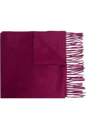 Paul Smith Men Scarves - Fringe-detail cashmere scarf