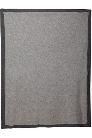 SIOLA Scarves - Two-tone cashmere blanket - Grey