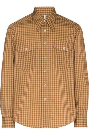 Sunflower Wayne check-pattern shirt