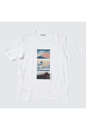 UNIQLO Hokusai Fujiyama Ut (Short-Sleeve Graphic T-Shirt), , XXS